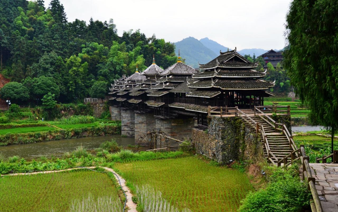 0 d42d1 cfe63d75 orig - «Ветер и дождь» - поэтичные мосты Китая