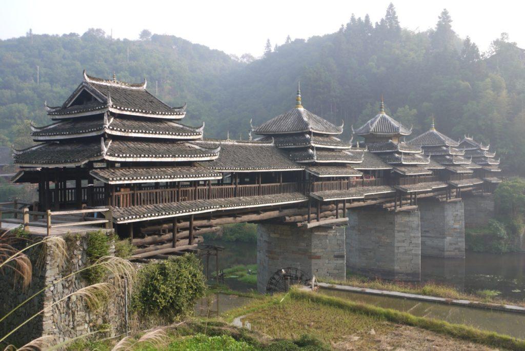 «Ветер и дождь» - поэтичные мосты Китая