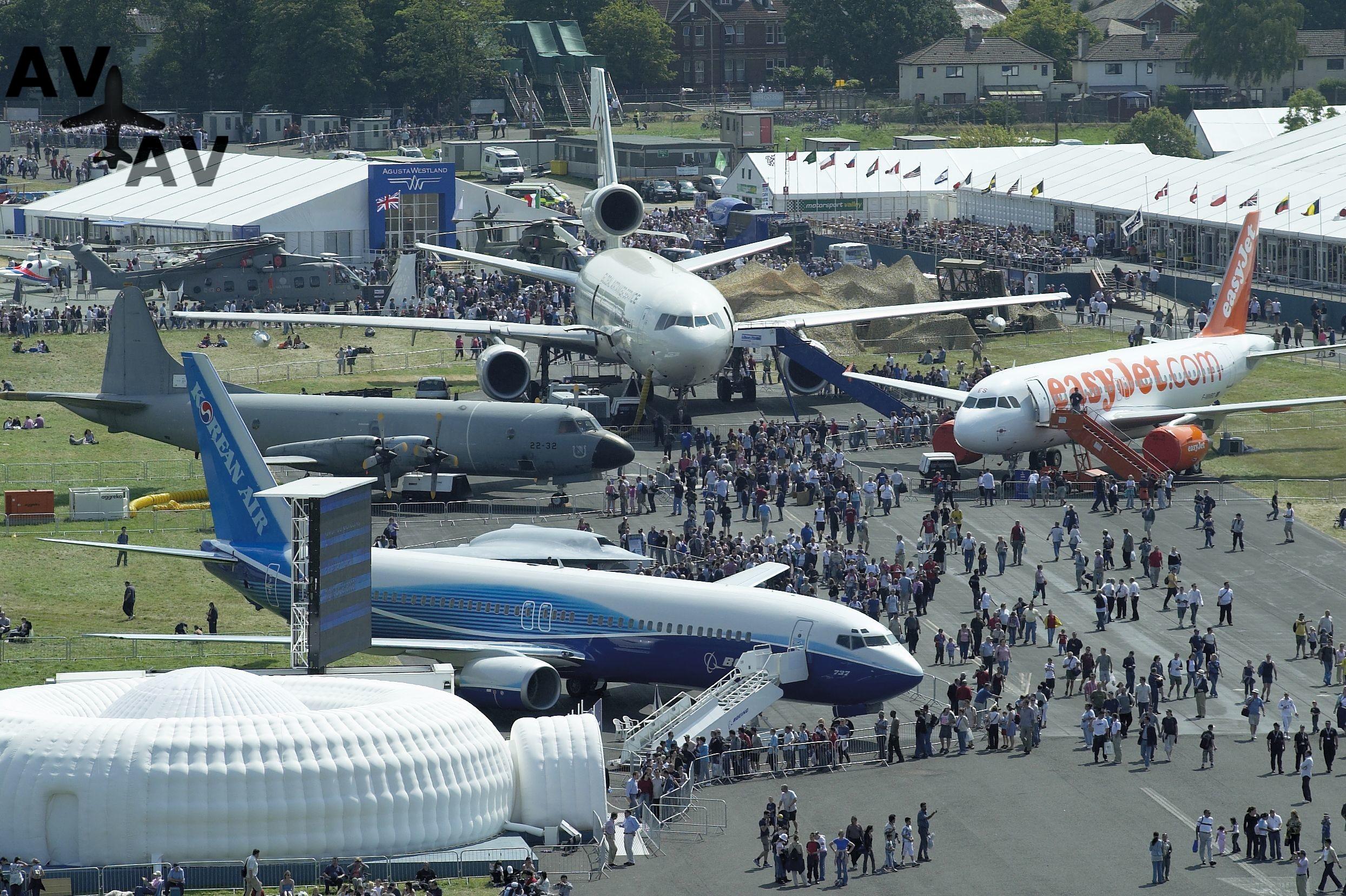 143769001 - Авиасалон «Фарнборо» пройдет без России