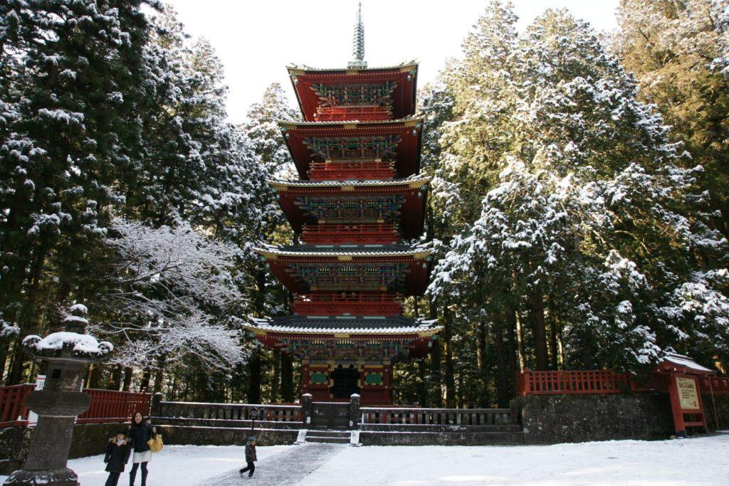 Храм Тосегу: среди вековых криптомерий