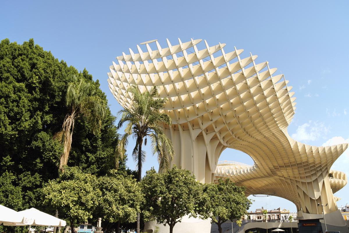 52d70c3d8b834 - Зонтик Метрополь - необычная деревянная конструкция в Севилье