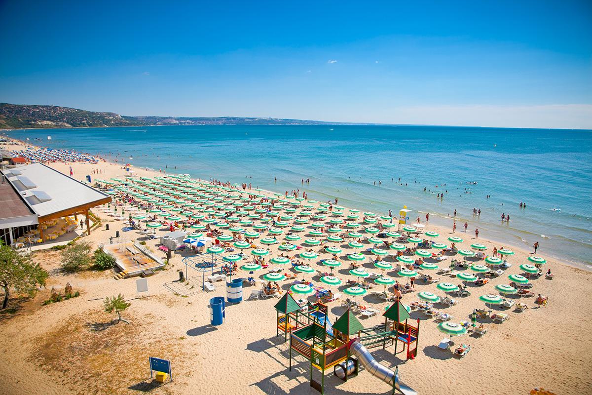 Золотые пески Болгарии