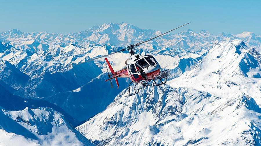 97 - 5 причин трансфера на вертолете в Альпы этой зимой