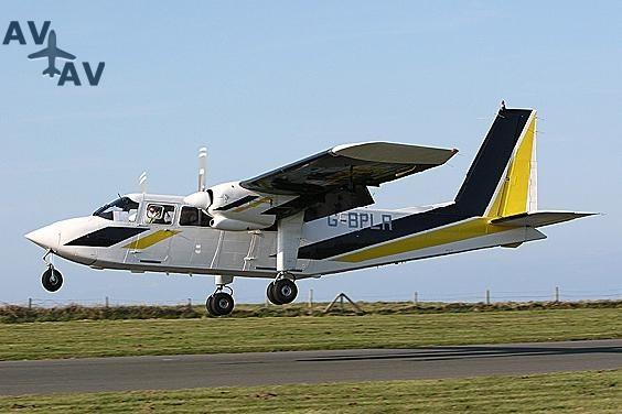 BN2 Islander PrivateFly AA1048 - Charter a BN2 Islander - Аренда