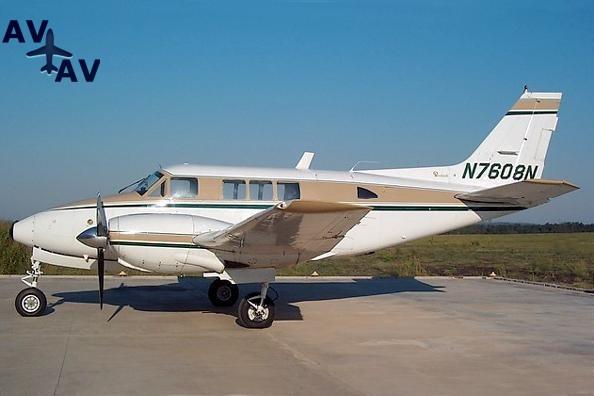 Beech Queen Air B80 PrivateFly AA1075 - Charter a Beech Queen Air B80 - Аренда