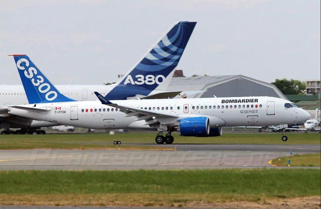 Egypt Air купить у канадской Bombardier 24 самолета