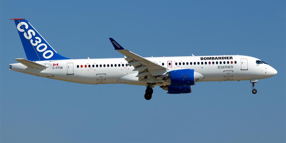 Bombardier CS300 - «Egypt Air» планирует покупку 24 самолетов «Bombardier»