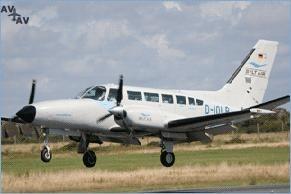 Cessna C404 Titan PrivateFly CC AA2323 - Charter a Cessna C404 Titan - Аренда