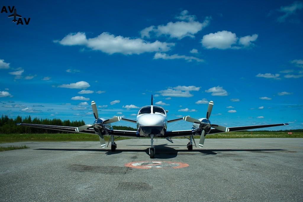 Cessna C441 Conquest II PrivateFly CC AA3397 - Charter a Cessna C441 Conquest II - Аренда