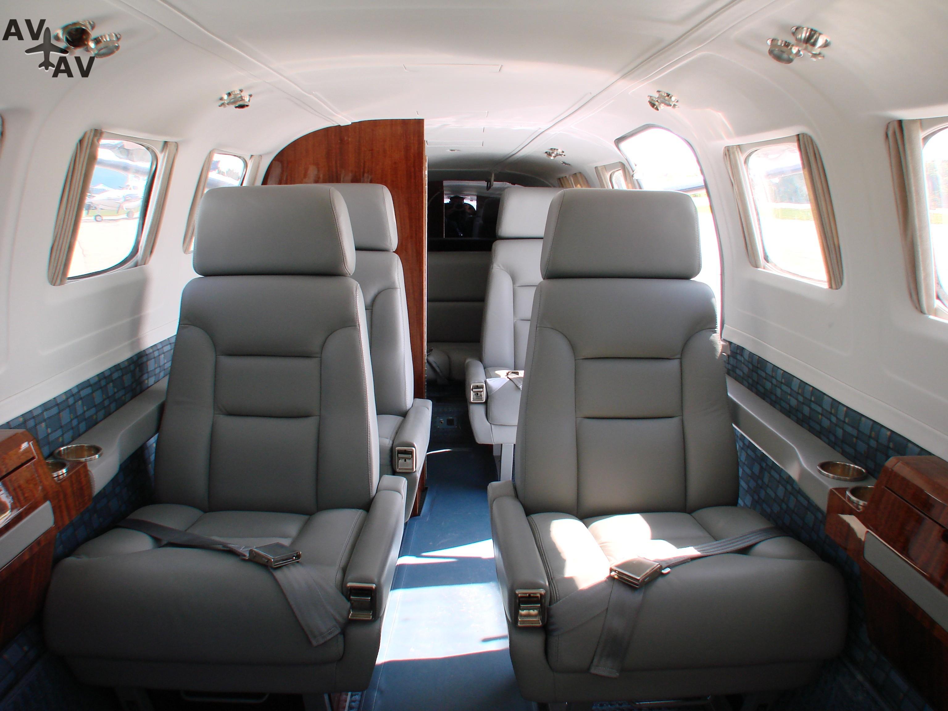 Cessna C441 Conquest II PrivateFly CC AA3398 - Charter a Cessna C441 Conquest II - Аренда