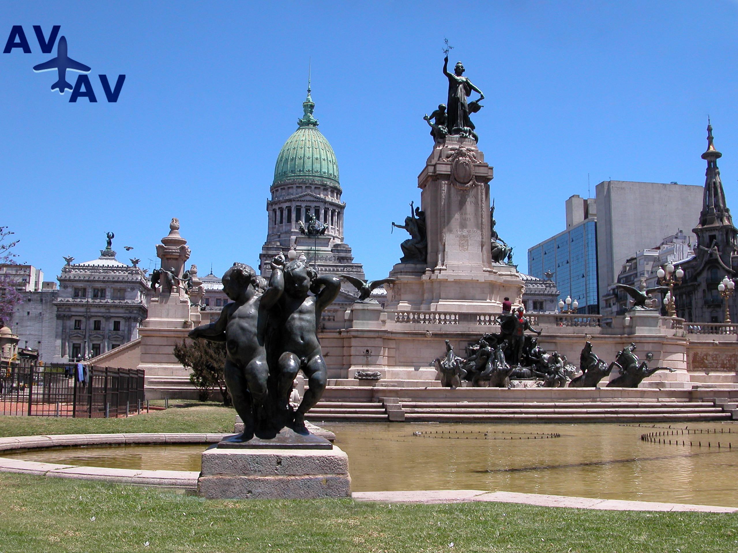 Dostoprimechatelnosti Bue`nos Ayresa - Достопримечательности Буэнос-Айреса