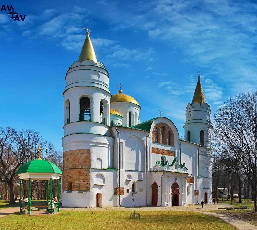 Drevnerusskiy gorod CHernigov - Древнерусский город Чернигов