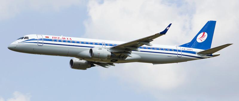 "Embraer авиакомпании ""Белавиа"""