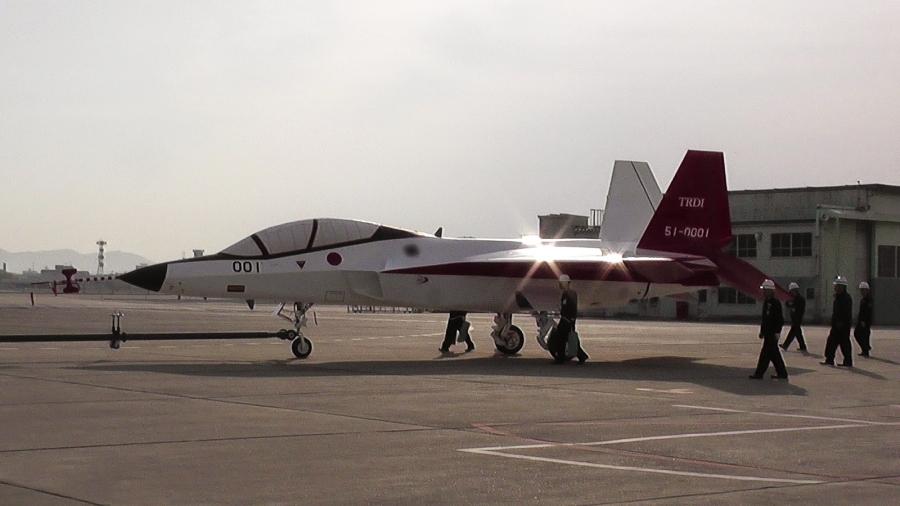F 3 150108 01 - Япония ждет финансирование на разработку истребителя