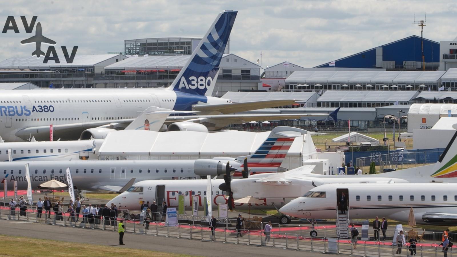 Farnborough farnairshow 2014 philw 159 - Авиасалон «Фарнборо» пройдет без России