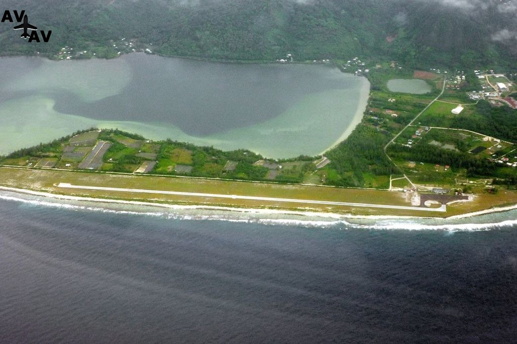 Flughafen Huahine Fare 1024x682 - Аэропорт Хуахине - Huahine – NTTH (HUH), Fare