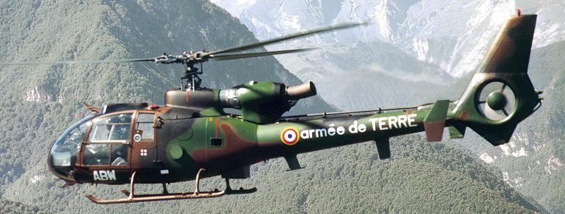 Gazelle SA342M - Вертолет Gazelle разбился в аэропорту Франции