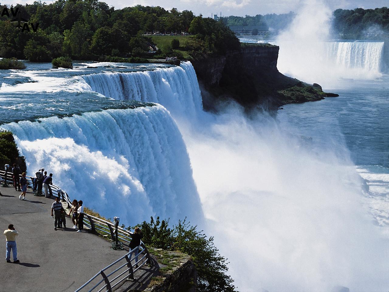 Interesnyie faktyi o Niagarskom vodopade - Интересные факты о Ниагарском водопаде