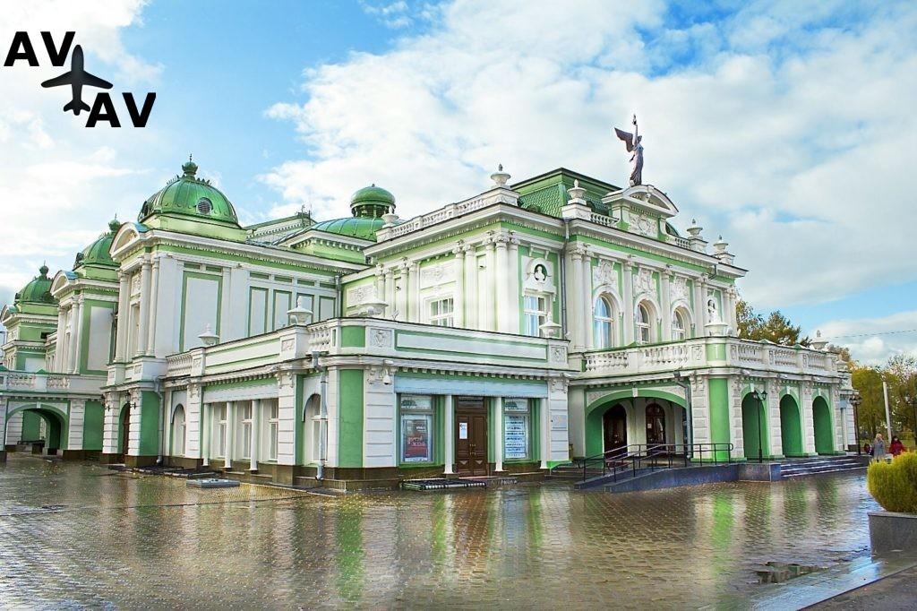 Интересные места в Омске