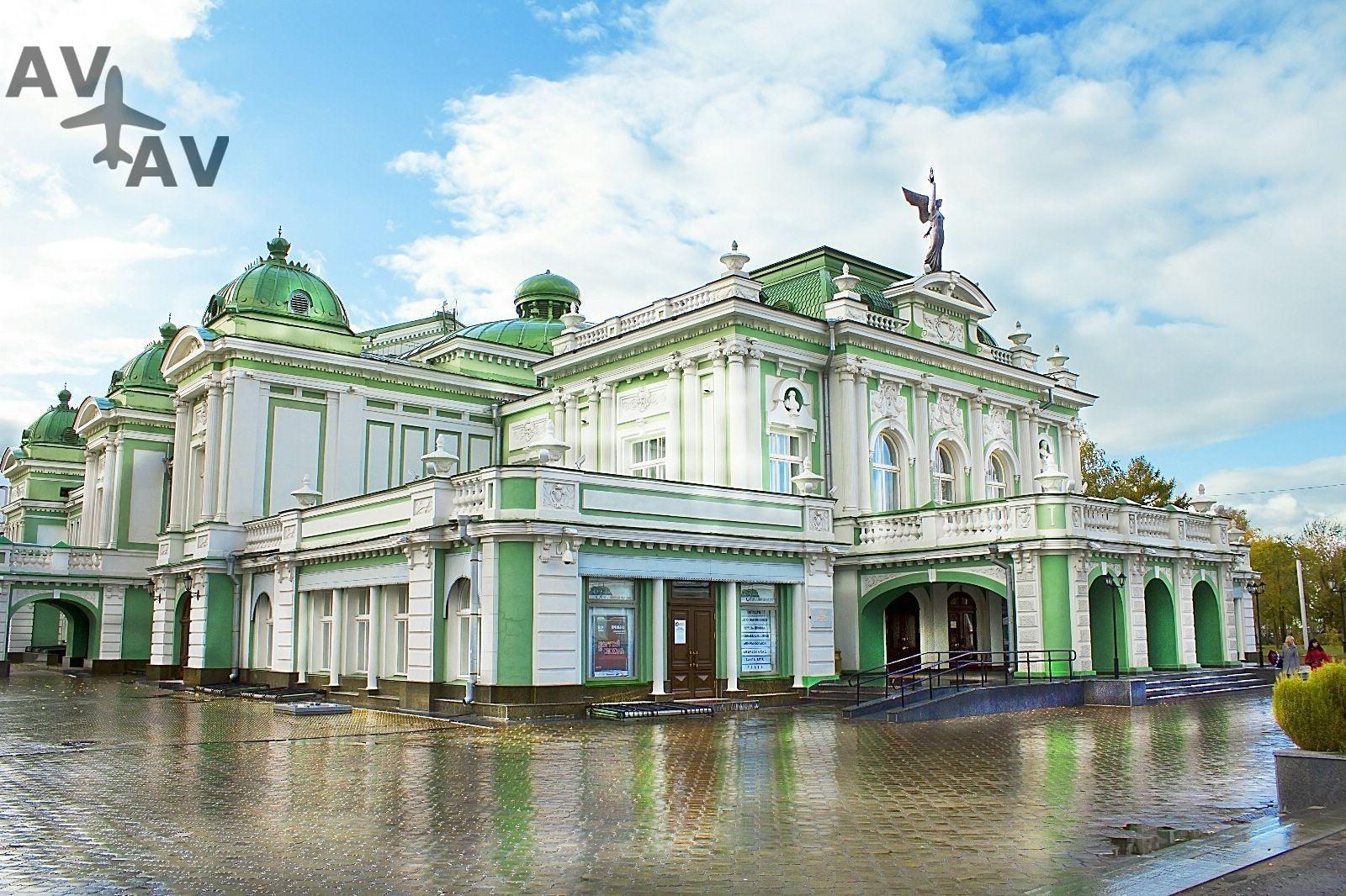 Interesnyie mesta v Omske - Интересные места в Омске