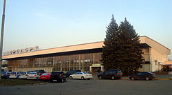 Main terminal at Dnipropetrovsk International Airport - Аэропорт Днепропетровск - UKDD (DNK), Dnipropetrovs
