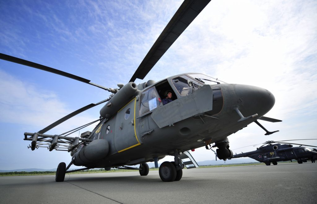 Российские производители отремонтируют вертолеты в Афганистане