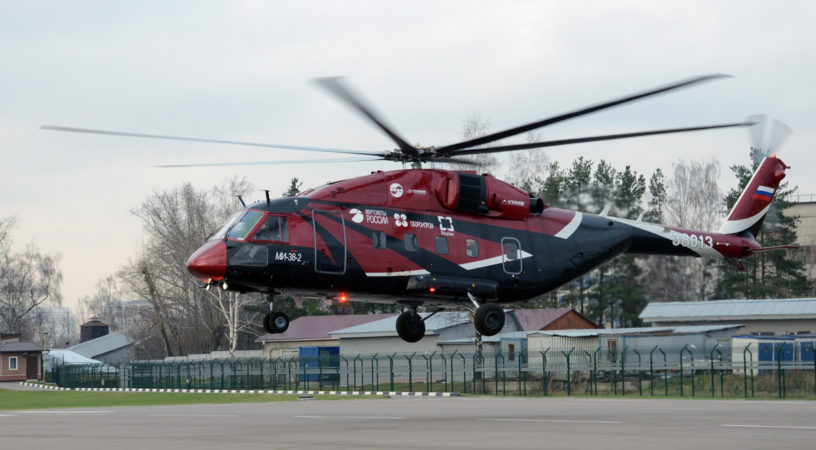 Mi 38 3rd prototype 816x450 - «Вертолёты России» выпустят VIP Ми-38