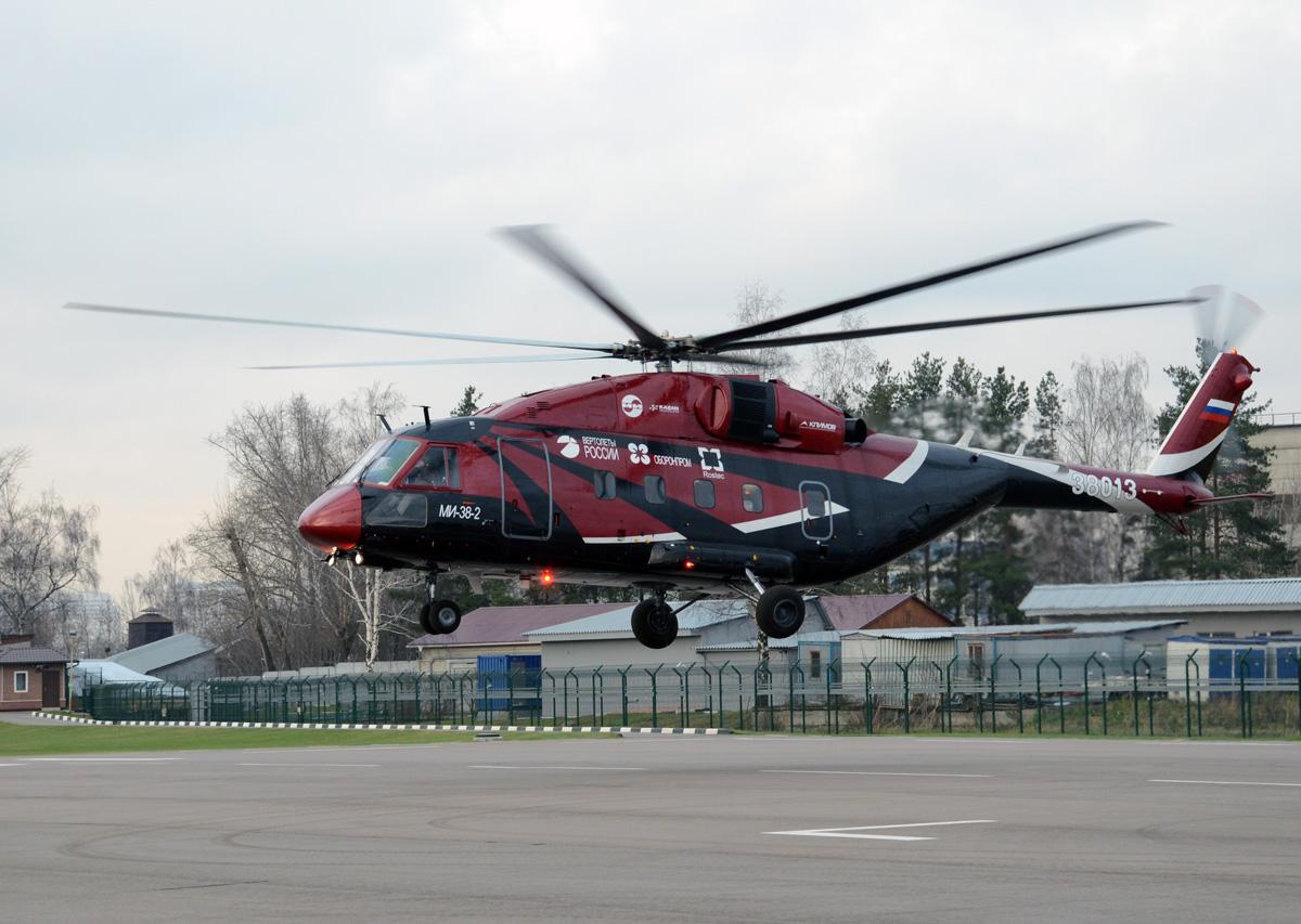 Mi 38 3rd prototype - «Вертолёты России» выпустят VIP Ми-38