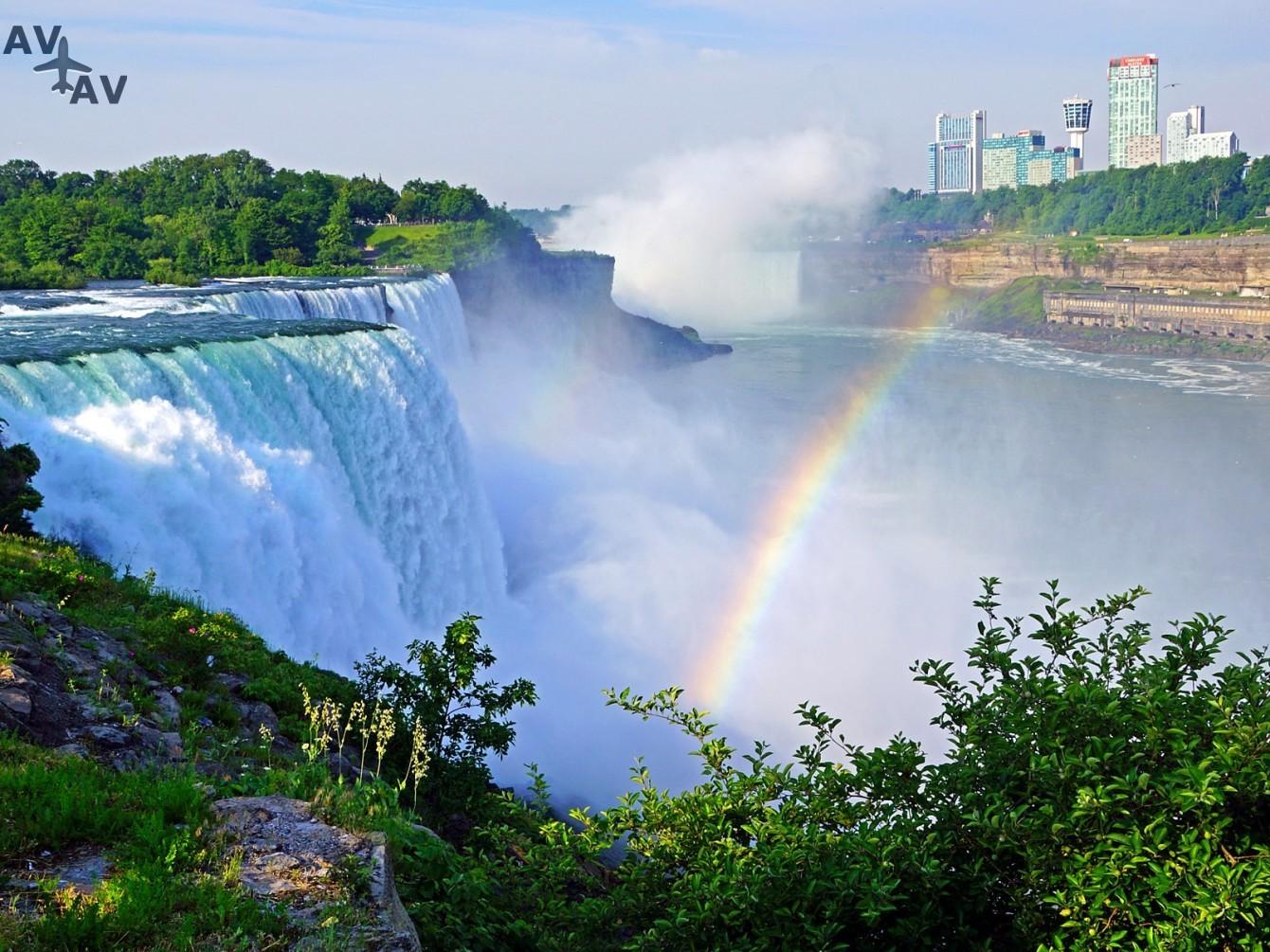 Niagarskiy vodopad - Интересные факты о Ниагарском водопаде