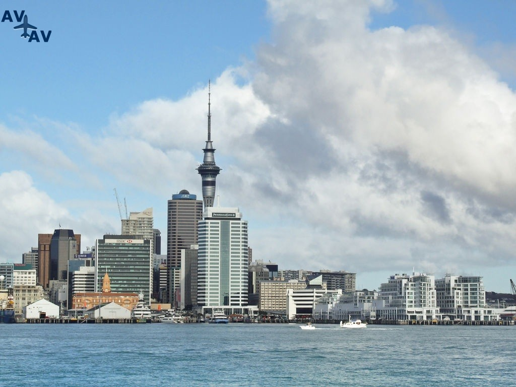 Oklend parusnyiy gorod Novoy Zelandii - Окленд - парусный город Новой Зеландии
