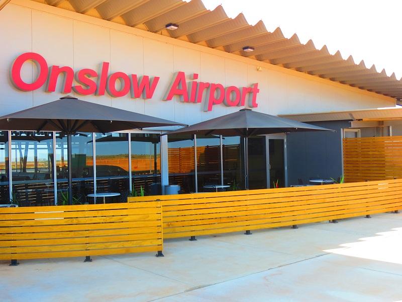 OnslowAirport - Аэропорт  Онслоу Австралия коды IATA: ONS, ICAO: YOLW