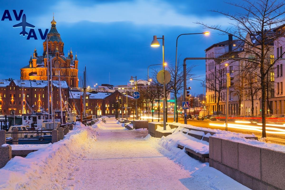 Puteshestvie v Helsinki - Путешествие в Хельсинки