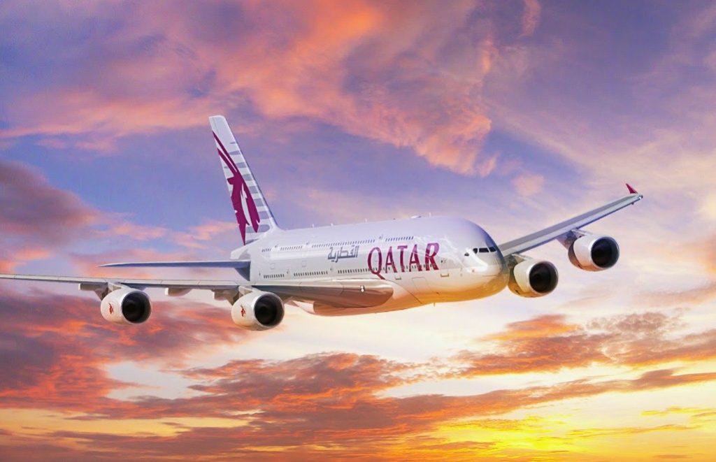 Qatar Airways 1024x661 - Самолёт Qatar Airways совершила вынужденную посадку в Индии