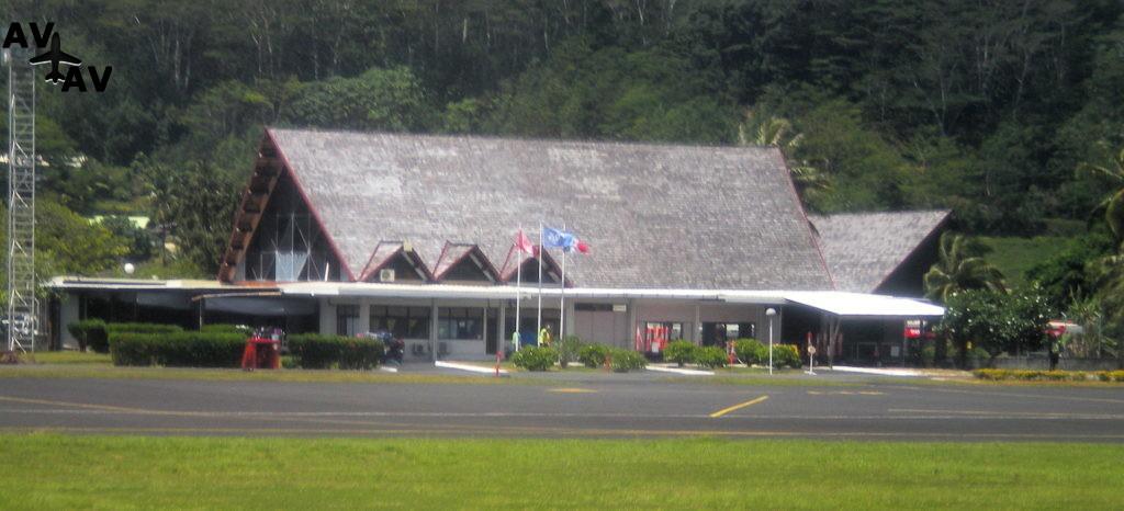 Аэропорт Раиатеа - Французская Полинезия - Raiatea Airport-NTTR (RFP), Uturoa
