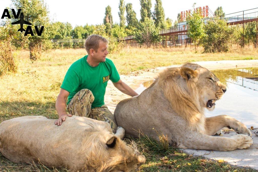 Сафари в крымском парке львов