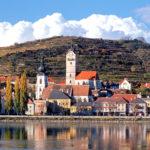 Severnyiy gorod s gornoy rekoy v tsentre 150x150 - Словенский город на западе австрийской республики