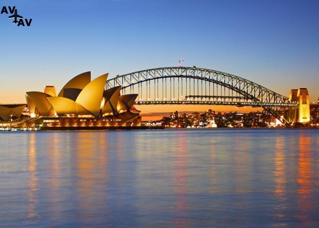 Сидней - современные городские джунгли