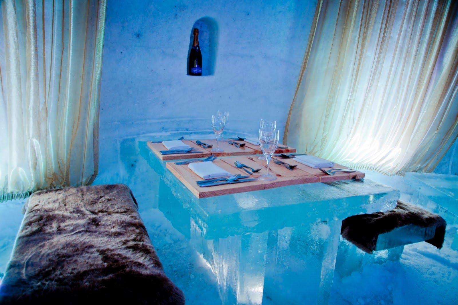 Sorrisniva Igloo Hotel - Ледяной отель в Юккасъярви