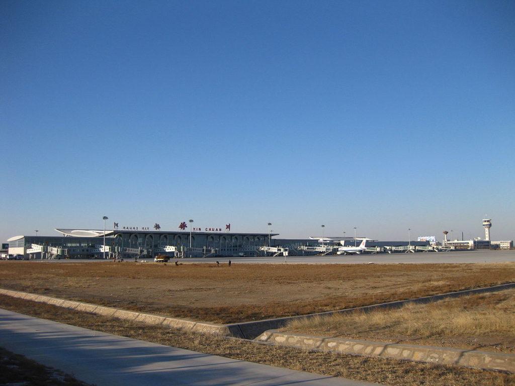 YinChuan airport 1024x768 - Аэропорт Иньчуань Китай коды IATA: INC, ICAO: ZLIC