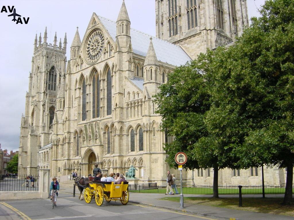 Йорк - исторический центр Северной Англии