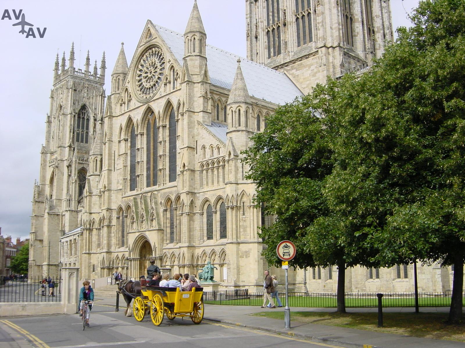 York istoricheskiy tsentr Severnoy Anglii - Йорк - исторический центр Северной Англии