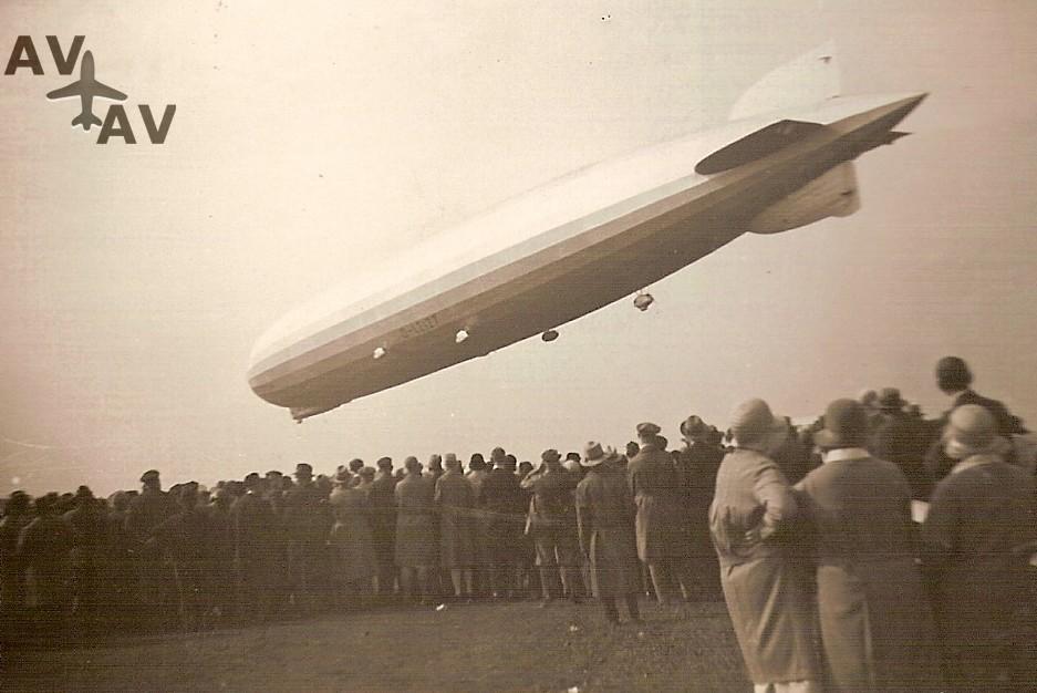 ZeppelinLZ127a - Первая авиакомпания в мире