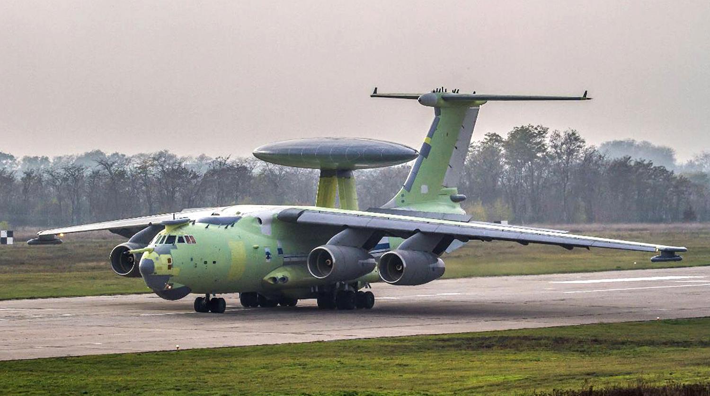 Летающий радар А-100 впервые поднялся в небо