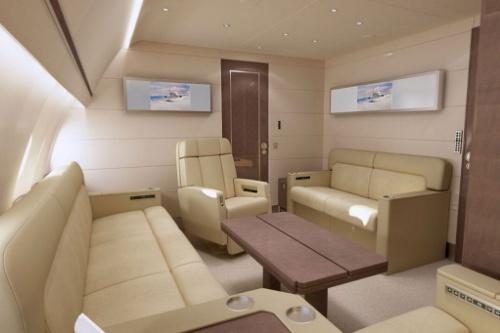 a330mrtt governor - VIP-салоны для грузовых самолетов Airbus A330 MRTT от Lufthansa Technik