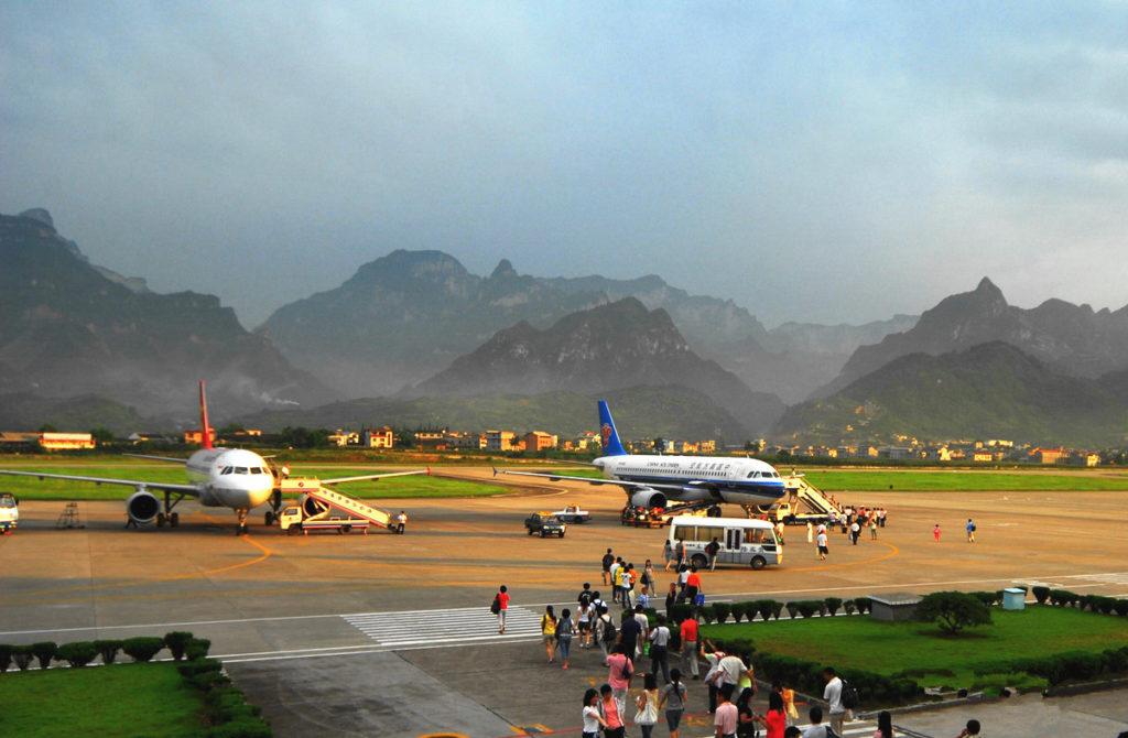 airport8 1024x670 - Аэропорт Чжанцзяцзе Китай коды IATA: DYG, ICAO: ZGDY
