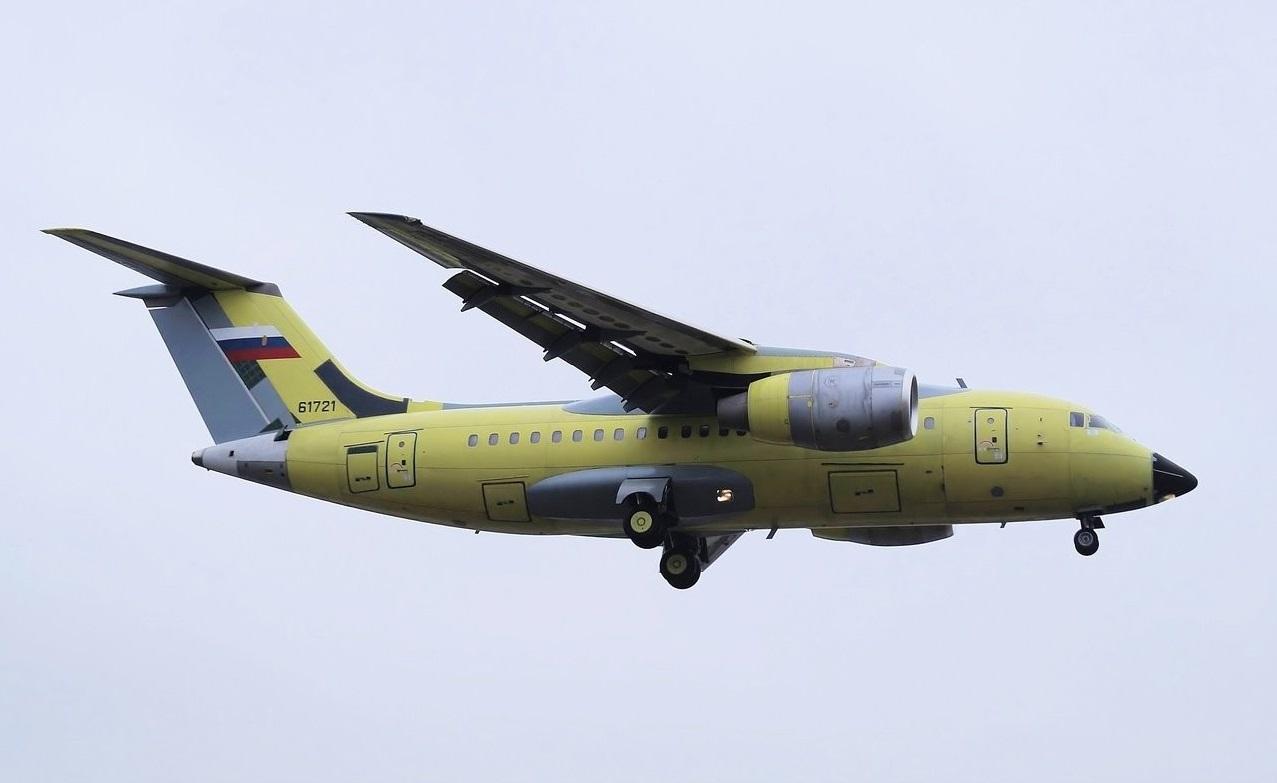 an 148 - При первом испытательном полете у Ан-148 отказал двигатель