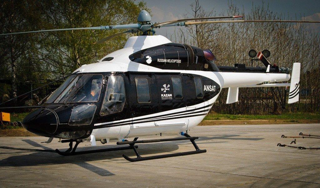Вертолет Ансат презентован пакистанским заказчикам