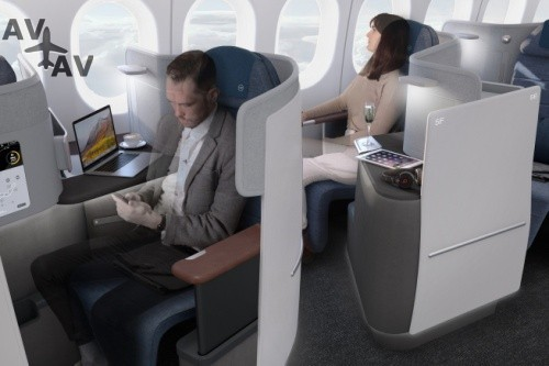 Lufthansa раскрыла свою самую секретную разработку – новый салон бизнес-класса