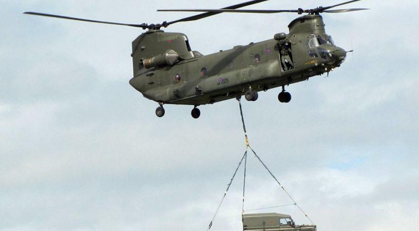 Тяжелый двухвинтовой вертолет - Boeing H-47 Chinook