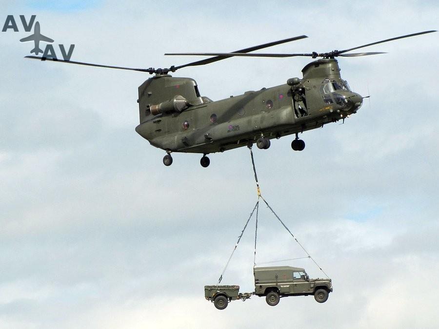 chinook - Тяжелый двухвинтовой вертолет - Boeing H-47 Chinook